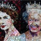 Глаза-пуговки английской королевы.