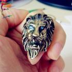Blue eyes lion.