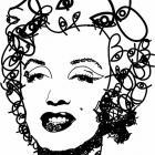 Все глаза Marilyn Monro.