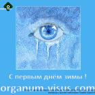 Greetings on first day of winter-2016! Новости портала Орган зрения organum-visus.ru