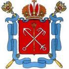 Герб Санкт-Петербурга, Россия.