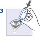 Рис. 3. Порядок закапывания глазных капель.