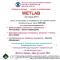 Впервые в России! WETLAB  в рамках конференции Восток-Запад-2017! Информационный партнер organum-visus.ru