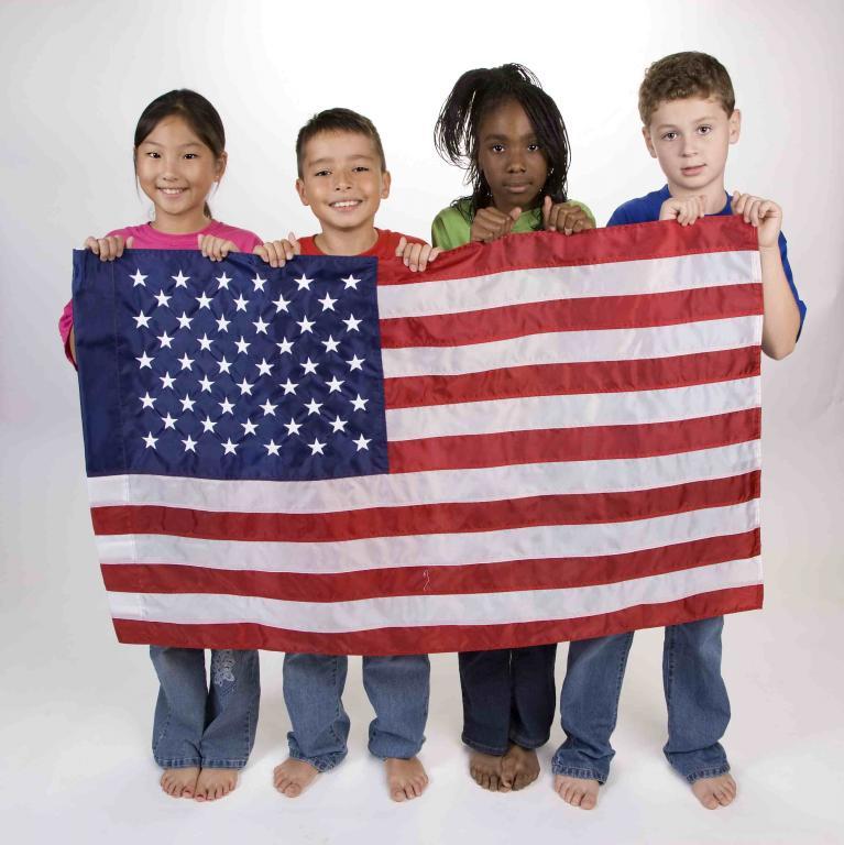 Фото детей из сша