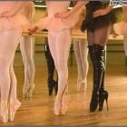 Каблук балерины, heel.