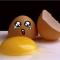 Слезы разбитого яйца.